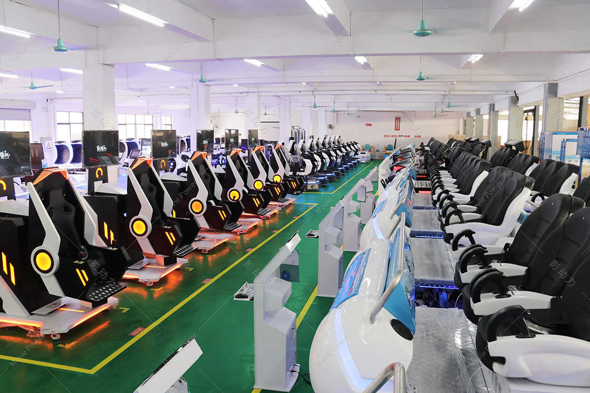 Guangzhou Movie Power Electronic Technology Co.,Ltd. factory production line