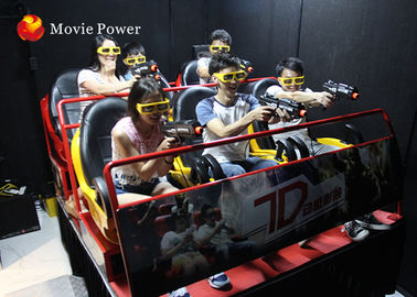Interactive virtual Reality 7D Movie Theater Simulator With 6/8/9/12 Seater