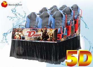 Dynamic Movie Theater Equipment 5d Driving Simulator With 3dof 6dof Dynamic Seater