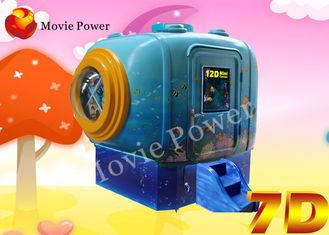 Mini Mobile Bump Vibration 5D Motion Cinema With Dynamic Seats System
