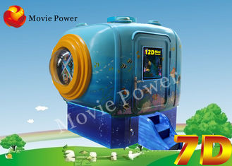 "47"" LCD Screen Bump Vibration 2 Seat 7D 5D Mini Cinema Equipment"