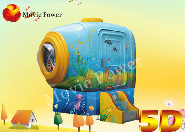 Amusement Park 7D / 5D Mini Cinema With Down / Bump Chair effects
