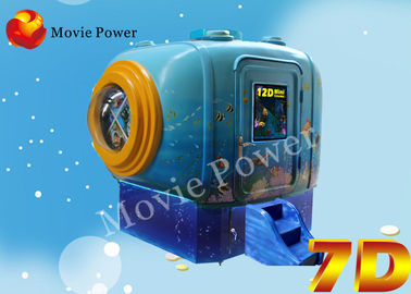 Attractive Kids Roller Coaster 9D / 5D Mini Cinema With Coin Control System