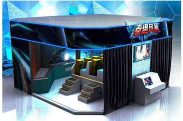 6 / 8 / 9 / 12 Seat VR 9D Action Cinemas With Multiple LED Display Screens