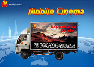 China Scared Entertainment Films Mobile 7D Cinema With Game Gun Shooting factory