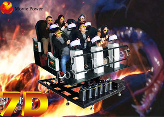 Efficiency Motion Seat Virtual Reality 5d 9D Action Cinemas 2.25KW 220V