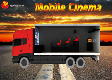 China Heterogeneous Motion Enjoyment Mobile Cinema Truck 12D Cinema factory