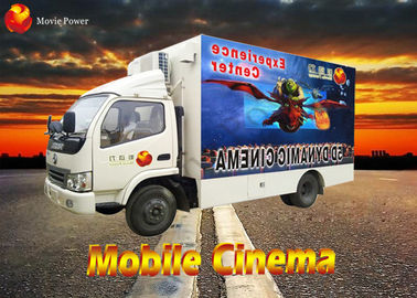 China Professional Fascinating Rain Snow Bubble Mobile 7D Cinema 7D Simulator factory