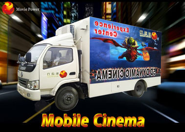 China Interactive Thriller Shooting Gun Mobile Movie Theater 220V 2.25KW factory