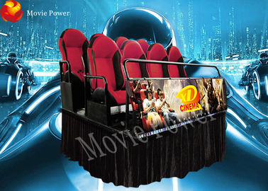 2.25KW Simulator amusement shooting games machine 8/9/12 seater