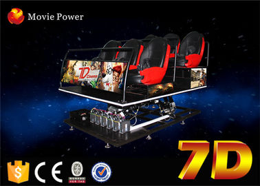 Great Experience 7d cinema system with shooting game for sales