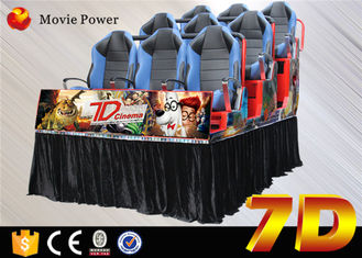 Good business 7d cinema machine with shooting game for teenagers and Children