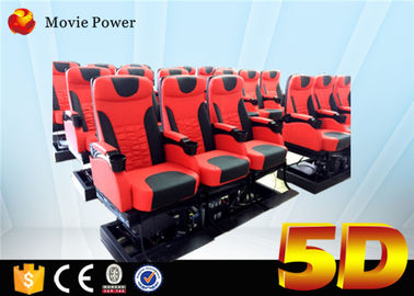 Theme Park 5D Movie Theater 3dof Platform Electric Or Hydraulic Supply
