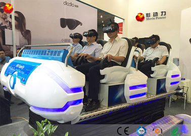 China 12 Monthes Warranty Multiple Movies 9D VR Cinema Game Simulator For Different Ages factory