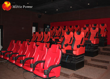China 3-Dof Large Cinema With Auto Seat Theater 5D Movie Chair With Special effects supplier