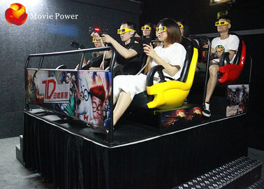7D Motion Cinema Seat Electric System Investments Satisfied Amusement Park