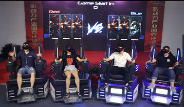 Coin Operated 9D VR Cinema VR Game Machine For Game Center 2-8 Players