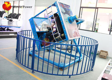 China Dynamic Control VR Flight Simulator With 360 Degrees Rotating Racks supplier