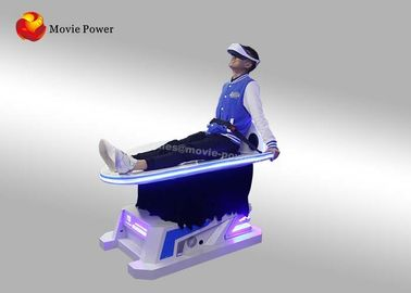 China 9D Dynamic Virtual Reality Slide Simulator For Amusement Park Roller Coaster supplier