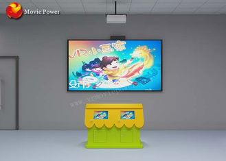 Interactive Projection System Children Painting Fish Game Simulator FRP + Steel Material
