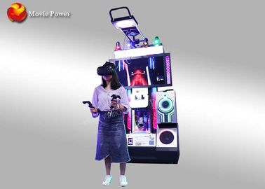 High Income Virtual Reality Music Arcade Game Machine / Interactive Dancing Simulator