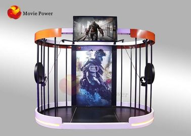 China Interactive Immersive 9D VR Shooting Simulator 360 Vision 1 Year Warranty supplier