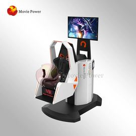 China Immersive Virtual Reality Chair VR Motion Simulator 9D 360 Degree Rotating factory