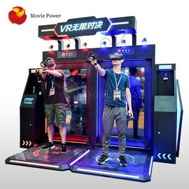 Electric System Interactive Virtual Reality Simulator Standing Shooting Game Machine