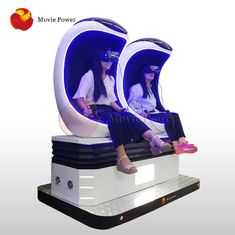 Amusement Park 9D VR Cinema / Virtual Reality Game Interactive 9d Egg Chair