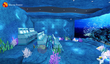 Theme Park Whole Solution Design Ocean 4d Motion Theater
