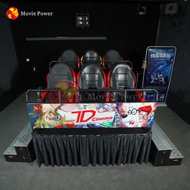 China Other Amusement Park Products 7d Interactive Cinema Gun Rides Container Chair factory