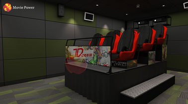 China Cinema Hall Electric Dynamic Cinema 7d 9 Seats Theater 9d Cinema Games factory