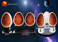 China 3 Seat 360 Virtual Reality 9D VR Cinema Cabin For Roller Coaster factory