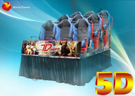 China 3D Glasses Dynamic Rain Fire 5D Movie Theater With Body Motion Seater company