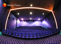 China Customized 150 People 4D Cinema Equipment XD Movie Theatre Blow Air To Face factory