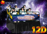 China Resourceful Interactive Virtual Reality 12D XD Movie Theatre With 6/8/9/12 Seater factory
