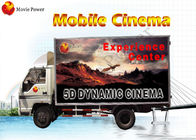 China Waterproof Cabin VR Truck Mobile 5D Cinema Sophisticated 6 - 12 Seat company