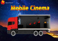China Professional 3D 4D 6D 7D Mobile 5D Cinema Truck With Volatile Motion Chair company