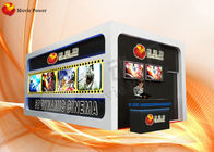 China Leg Sweep / Vibration 7D Cinema Cabin XD Movie Theater CE / ISO9001 company