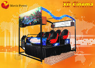 China Interactive 6 / 9 Seat Rain Wind VR XD Theatre Home Theater System factory