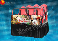 Entertainment hydraulic system 5d 7D movie theater 12 months guarantee