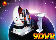 China Commercial Game Machine 9D Virtual Reality VR Simulator With Two seat factory