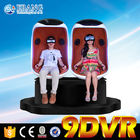 China Virtual Reality Egg 9D VR Cinema Simulation With Gun Shooting / Breathtaking Game factory