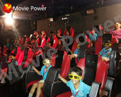 China Motion Electric Cylinders Large 5D Cinema Equipment With Smooth Movement factory