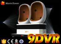 China Attractive Egg Shaped Design 9d Virtual Reality 9d Motion Ride Vr Simulator With Special Effects factory