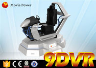 China Playground Car Racing 9D Simulator Wind Effects 9D Action Cinema Electric Platform factory
