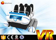 China 6 KW Great Experience VR Glasses 9d Cinema Simulator With Motion Platform factory