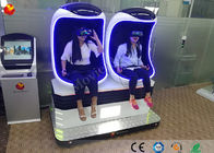 China 1 / 2 / 3 Seats Virtual Reality 9d Vr Cinema Egg Shaped Theater Simulator factory