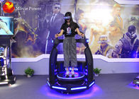 China Exciting Shooting Game Machine 9D Virtual Reality Simulator With 3D Glasses factory