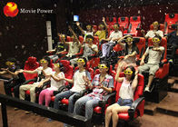 Dynamic Seat System Ergonomically 4D Movie Theater With 100 Hd Pieces Movies supplier